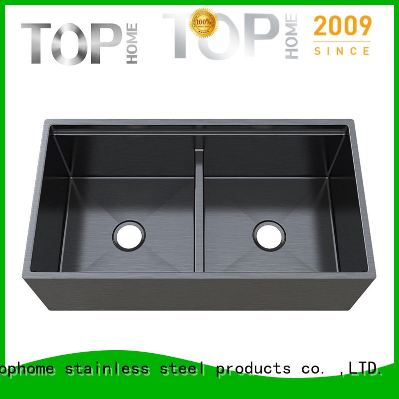 durability stainless steel bathroom sink farmhouse online for apartment