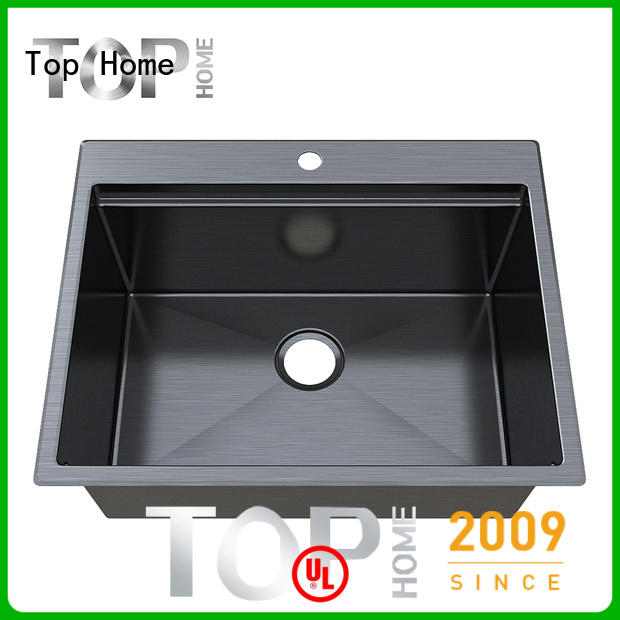 Top Home apron gold sink metal for kitchen