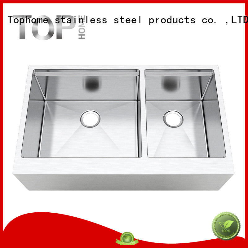Top Home inches apron sink farmhouse easy cleanning for kitchen