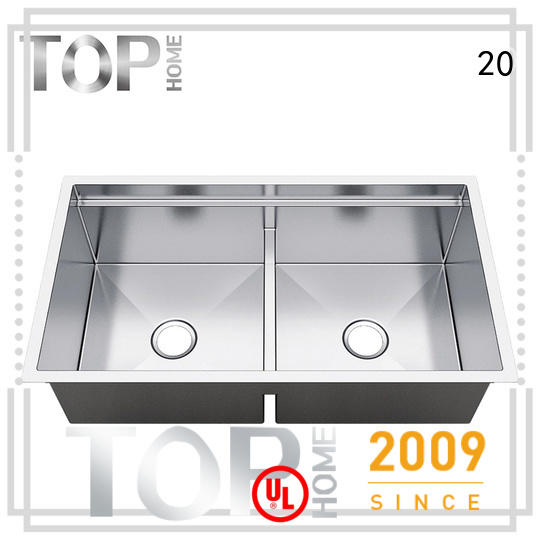 Top Home convenience undermount stainless steel kitchen sink wash easily for restaurant