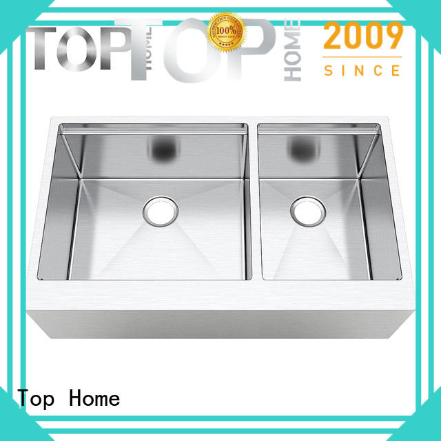 Top Home stainless steel farmhouse sink easy cleanning for cooking