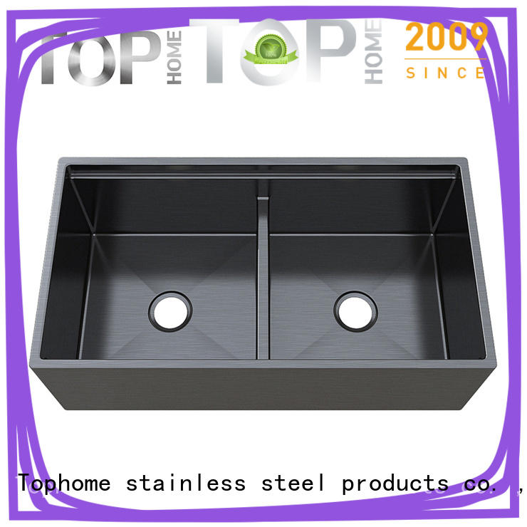 Top Home apron types of kitchen sinks metal