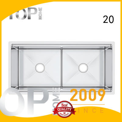 Top Home inside stainless steel under mount sink for outdoor