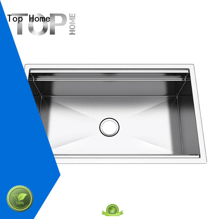 30 single basin sink over Top Home