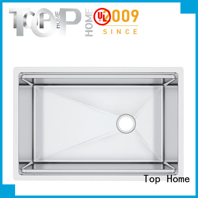 Top Home corners stainless steel kitchen sinks easy cleanning for countertop