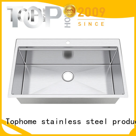 Top Home multifunctional under mount sink wash easily for countertop