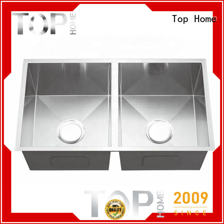 Top Home utility stainless steel under mount sink easy installation for cooking
